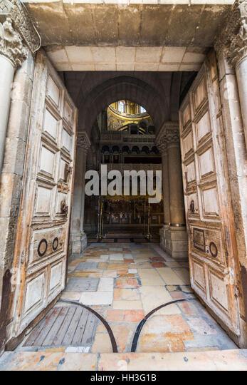 Wooden gate entrance stock photos wooden gate entrance for Entrance to rivet city