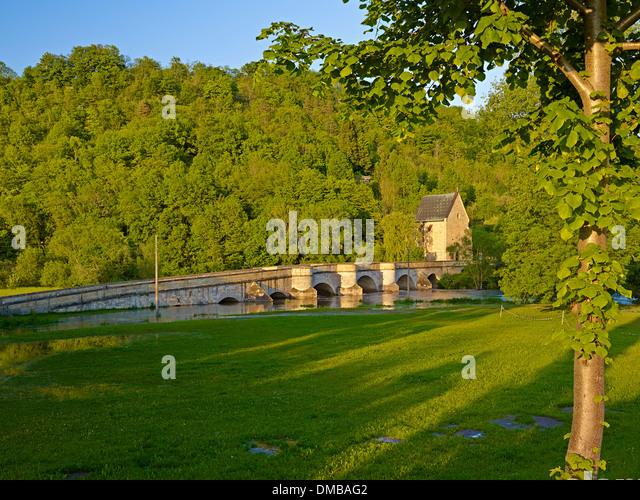 Behaarte alte Creuzburg(Thuringia)