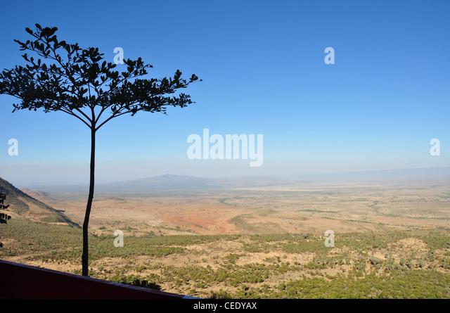 Rift Valley, Kenya, Africa - Stock Image