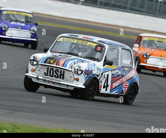 Josh Young, Mighty Mini, 1275, Mighty Mini Championship, Saturday, Silverstone, Silverstone truck festival, Saturday, - Stock Image