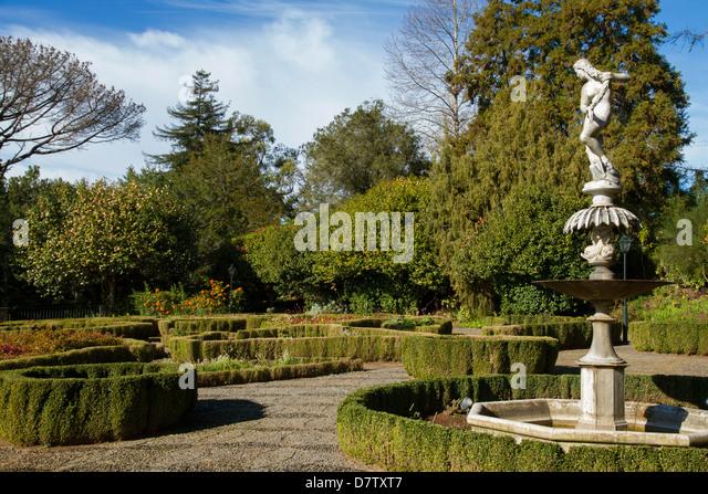 Malakoff Garden, part of Imperador Gardens, Funchal, Madeira, Portugal - Stock Image
