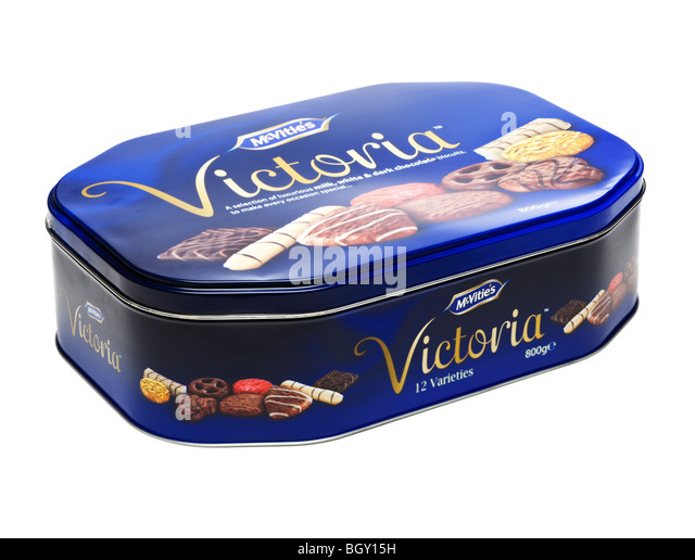 Chocolate Biscuit Cake Tin