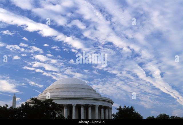 Jefferson Memorial in Washington D.C. - Stock Image