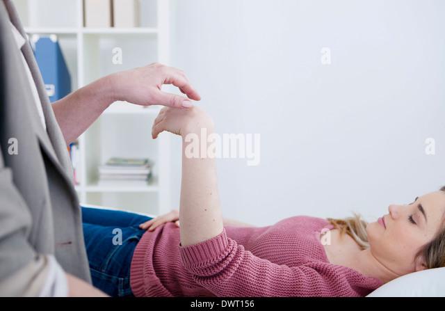 Hypnosis - Stock Image