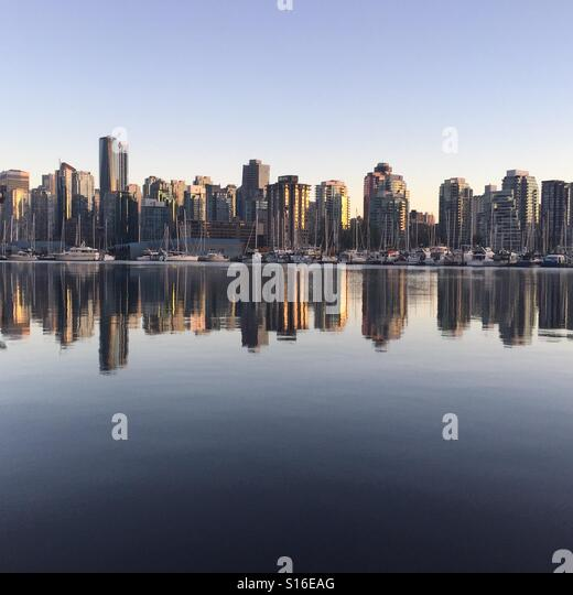 Vancouver City - Stock-Bilder