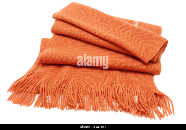 Winter Scarf - Stock Image