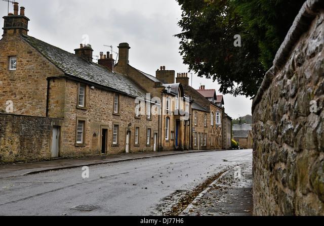 Eyam; Derbyshire; UK - Stock Image