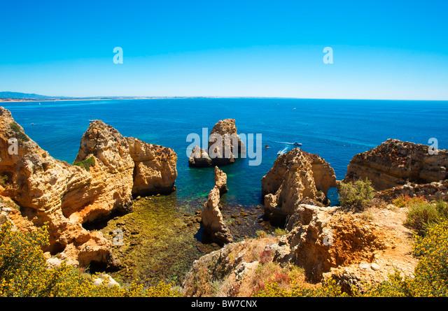 Ponta da Piedade, Algarve, Portugal - Stock-Bilder