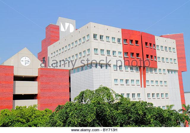 Miami Florida Miami-Dade College Wolfson Campus - Stock Image