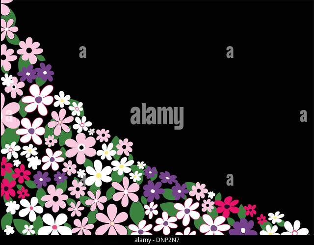 Background of summer flowers - Stock-Bilder