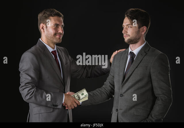 bribe caucasian