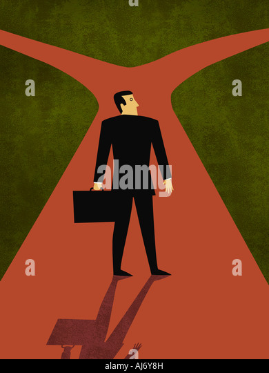 Business Choices - Stock Image