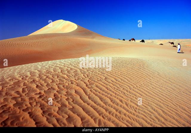 United Arab Emirates UAE Abu Dhabi Province - Stock Image