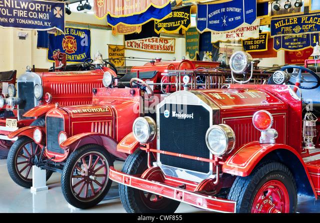 Museum of Firefighting, Hudson, New York - Stock Image