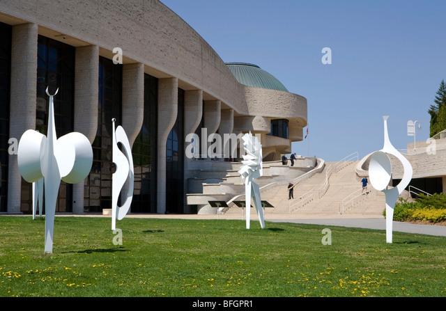 Museum of Civilization, Gatineau, Quebec, Canada - Stock Image