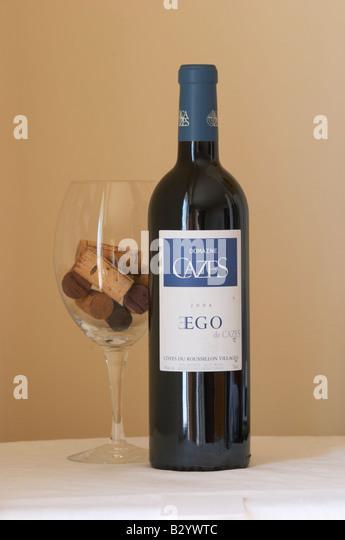 Domaine cazes, ego. Roussillon, France - Stock Image