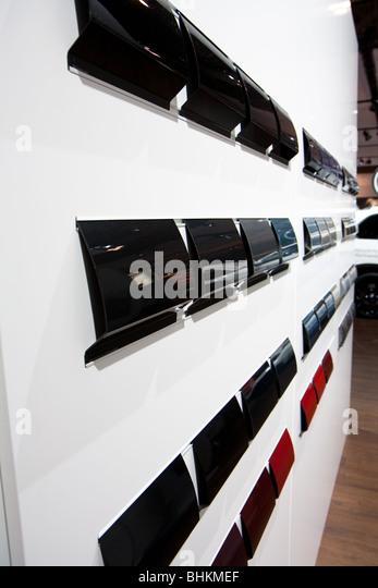 BMW exterior paint color option - Stock Image