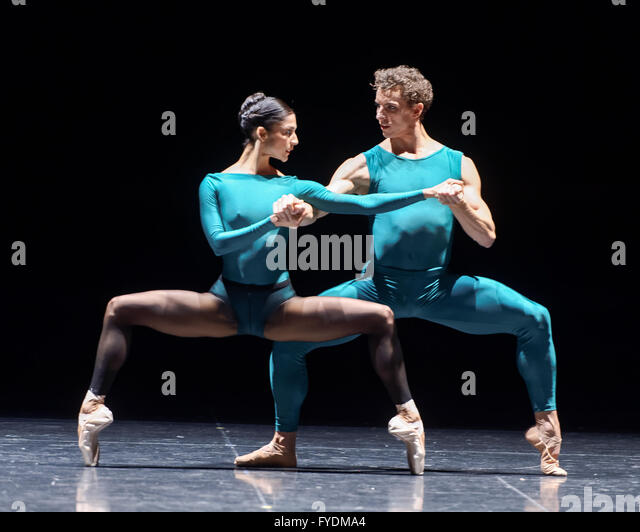 Sydney, Australia. 25th April, 2016. The Australian Ballet previewed the second part, William Forsythe's In the - Stock Image