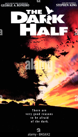 THE DARK HALF -1993 POSTER - Stock Image