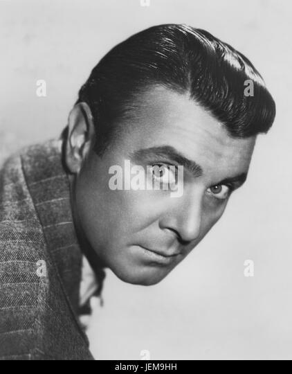 George Brent, Publicity Portrait, Warner Bros., 1930's - Stock Image