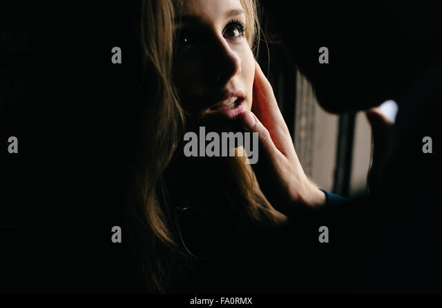 man and woman in a relationship - Stock Image