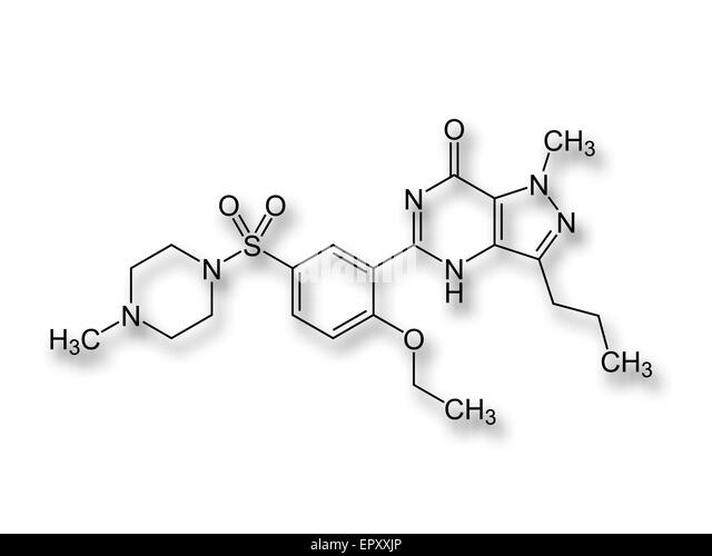 Structure of viagra