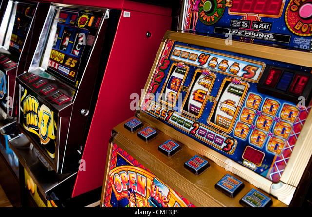 Gambling addiction fruit machine