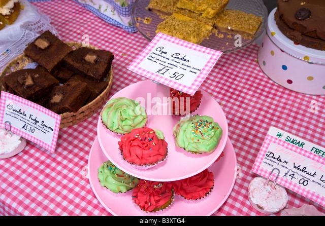 Acton Food Festival Acton W3 London United Kingdom - Stock Image