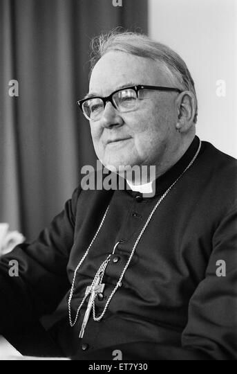 Doctor Patrick Dwyer, The Roman Catholic, Archbishop of Birmingham, Pictured, 22nd December 1975. Doctor Patrick - Stock Image