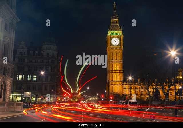 London at night - Stock-Bilder