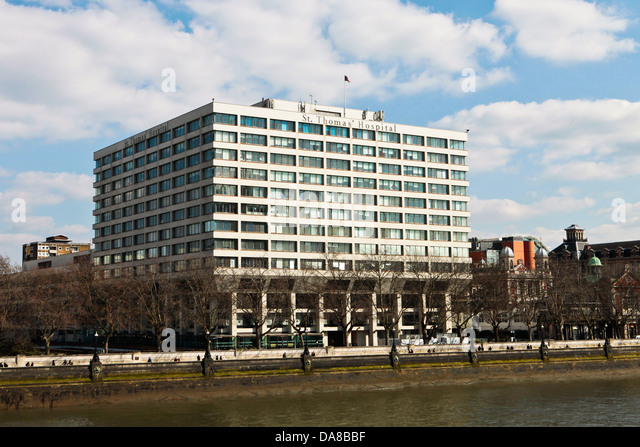 St. Thomas' Hospital, London, April 2013 - Stock Image