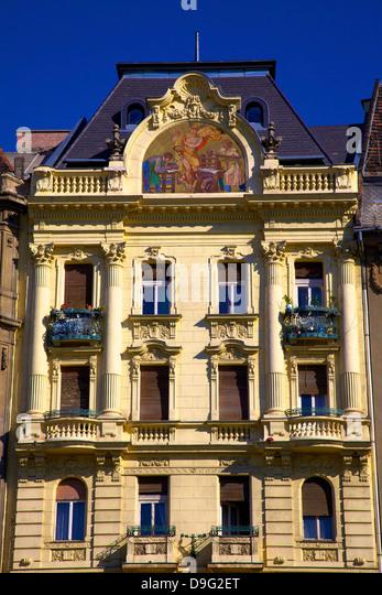 Historic Pharmacy Building, Budapest, Hungary - Stock-Bilder