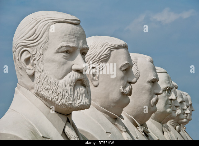 Us presidents stock photos us presidents stock images for White cement art