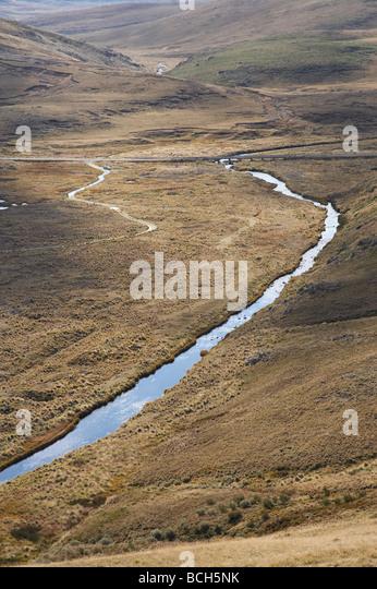 Eucumbene River near Kiandra Kosciuszko National Park Snowy Mountains New South Wales Australia - Stock Image