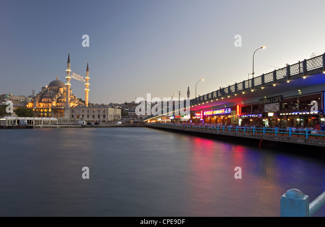 The New Mosque, Istanbul, Turkey, Europe, Eurasia - Stock Image