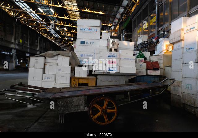 Sakana stock photos sakana stock images alamy for Tsukiji fish market chicago