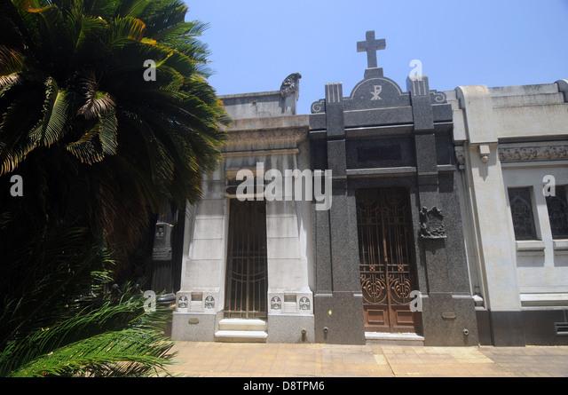 La Chacarita Cemetery, Buenos Aires, Argentina. No PR - Stock Image