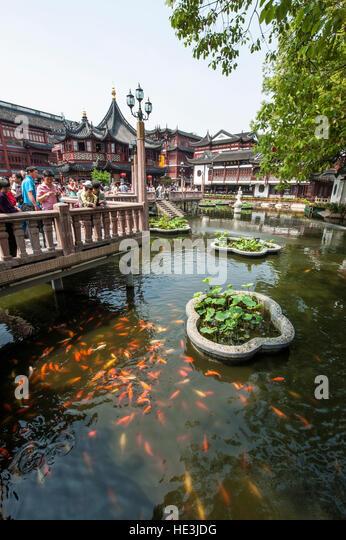 Miao eastern stock photos miao eastern stock images alamy for Koi pond quezon city