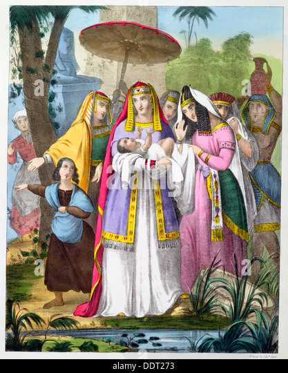 Was moses and pharaoh s daughter can