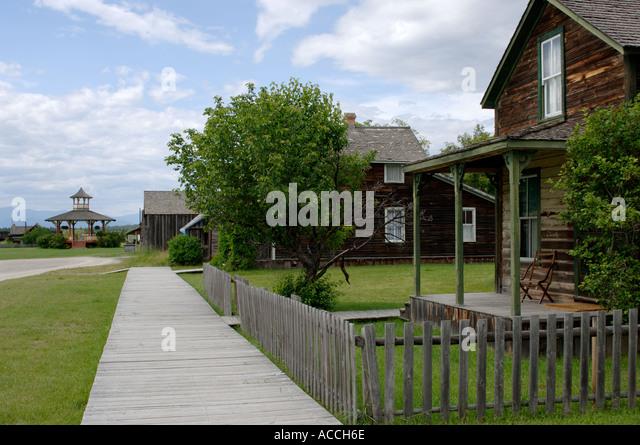 Fort Steele Kootenay British Columbia Canada - Stock Image
