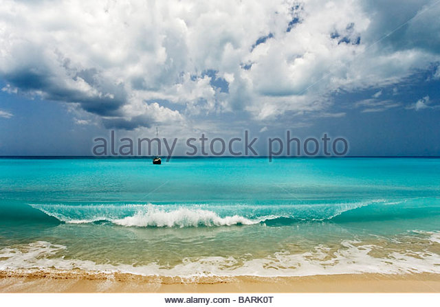 Barbuda Leeward Islands Eastern Caribbean - Stock Image