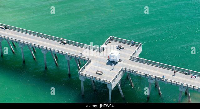 Panama city beach and florida stock photos panama city for Panama city fishing pier