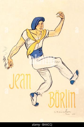 Jean Borlin - Stock Image