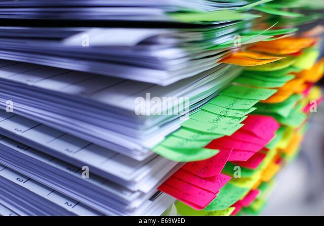 stack,note pad,document - Stock-Bilder