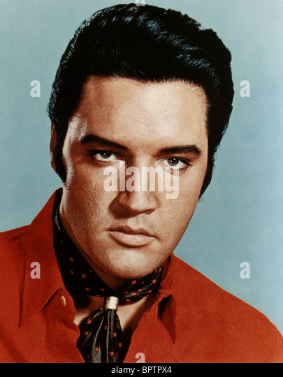 ELVIS PRESLEY SINGER (1960) - Stock Image
