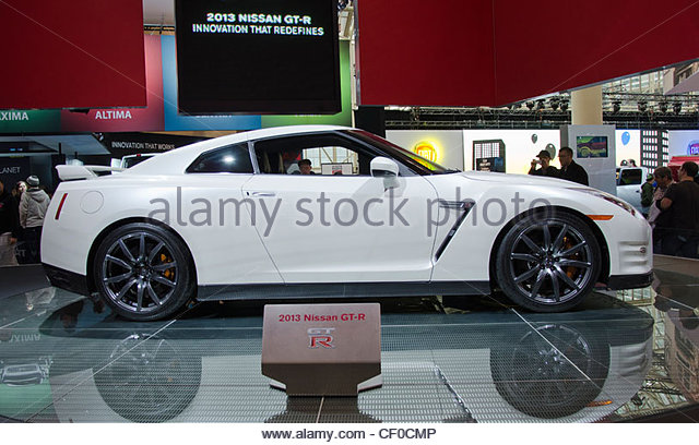 Canada International Autoshow or Auto show in the Metro Convention Center Centre, Toronto city - Stock Image
