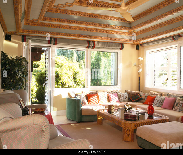 The l shaped room stock photos the l shaped room stock for C shaped living room
