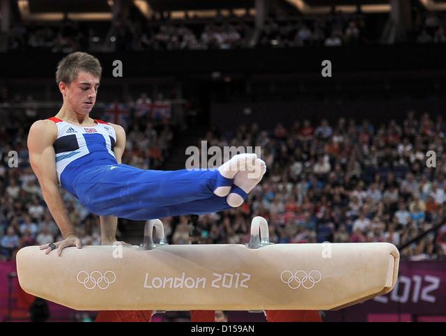 Max Whitlock (GBR, Great Britain). Individual Gymnastics - Stock Image