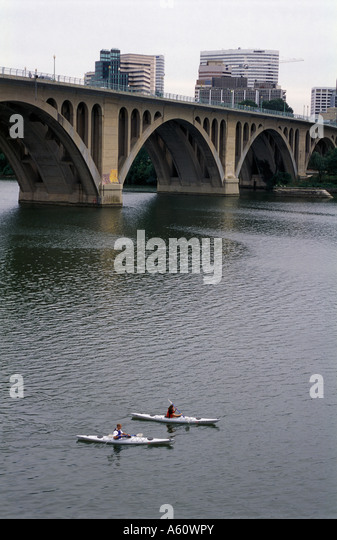 Potomac River, Washington D.C. - Stock Image