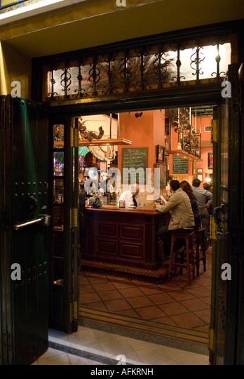 Tapas seville stock photos tapas seville stock images - Bar coloniales sevilla ...